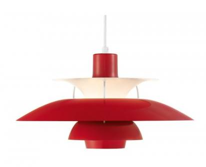 Suspension PH 50 rouge